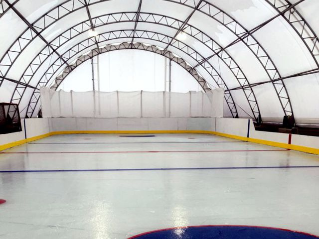 Alberta Hockey Rink Shelter